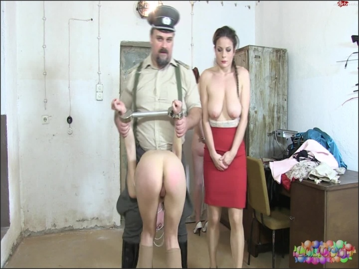 [Full HD] caning in prison die verrterin mit lolicoon - (Cast Mix) - MyDirtyHobby