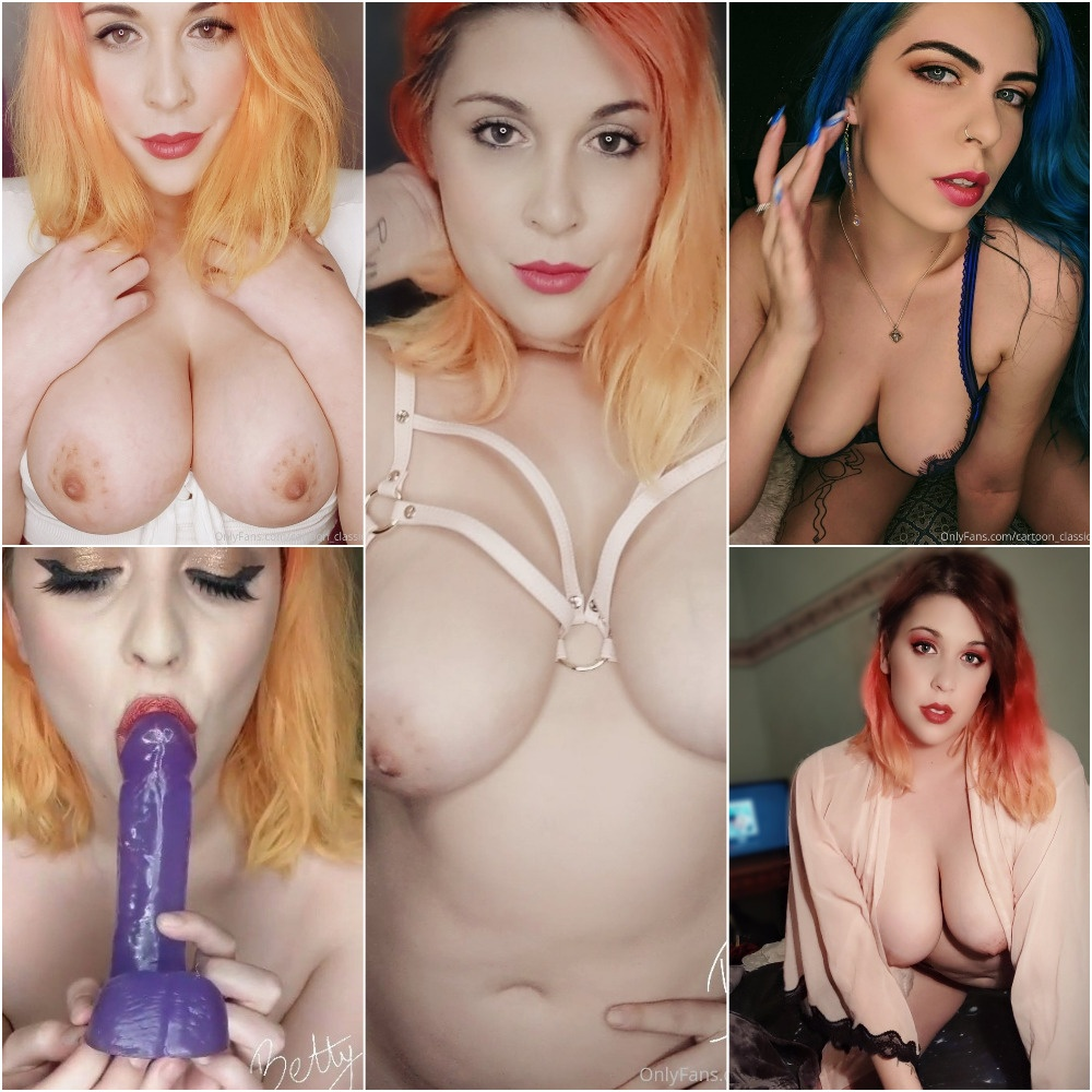 "OnlyFans SiteRip Betty Boob V.I.P.s ""@og bettyboob"" - 268 Pictures & 26 Videos 500 MB"