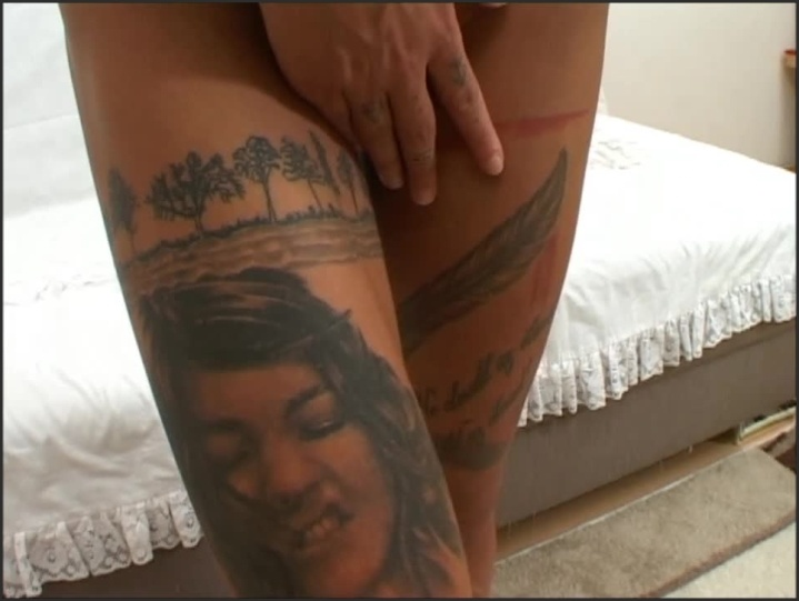 21Christinaventura Naked Tattoos Girl