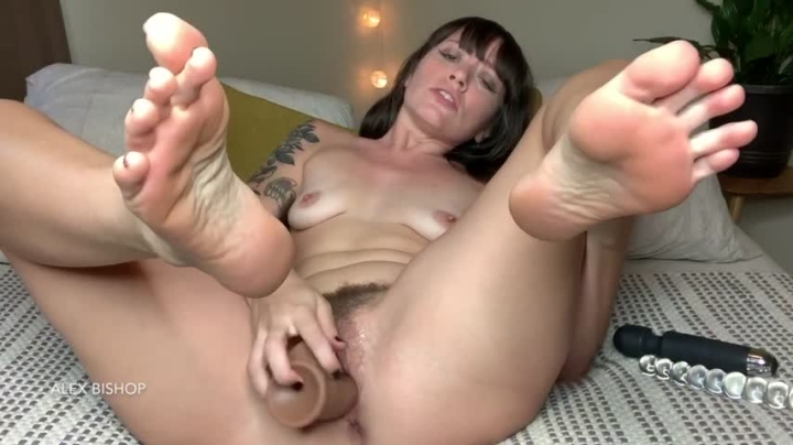 Alex Bishop Hot Brunette Hole Fuck