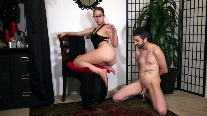 Alex Coal Slave In Chastity Is Caught Lying