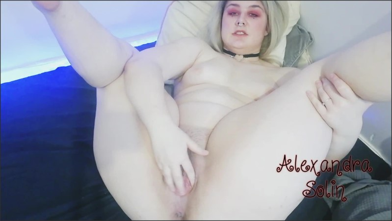 [Full HD] Spreading My Pussy And Fingering Myself Untill I Have An Squirting Orgasm  - Alexandra Solin - -00:06:23 | Masturbation, Blonde, Fingering - 173,8 MB