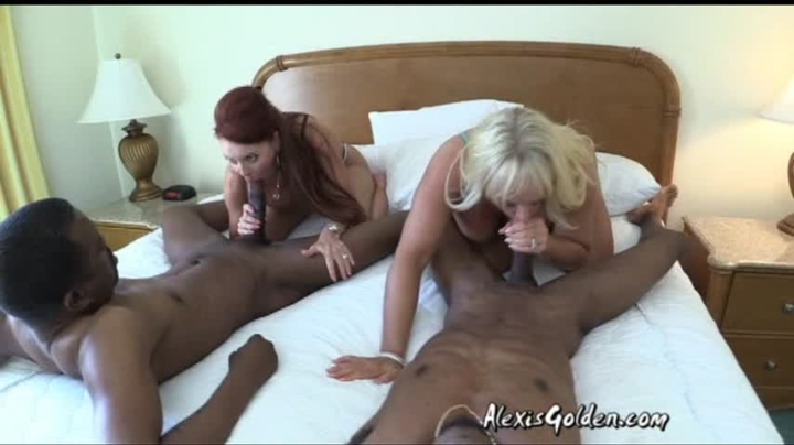Alexis Golden Milf Royalty 4Some Fucking Janet Pt 1