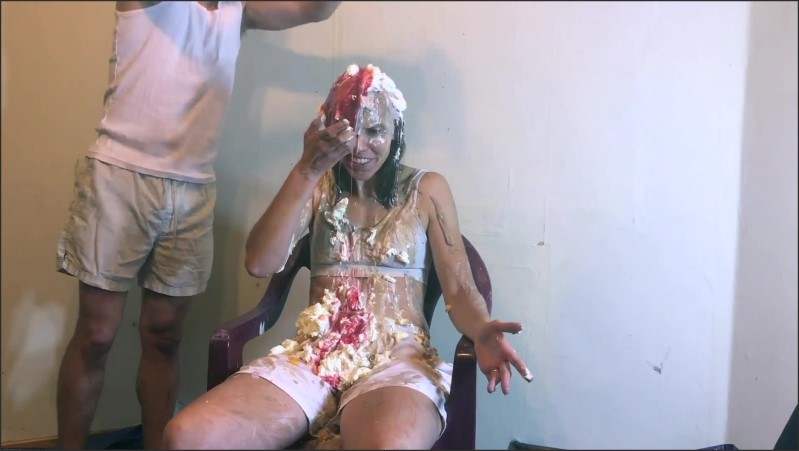 [Full HD] Messiest Human Sundae Challenge In The World Sexy Fully Clothed  - AliMessyxxx - -00:12:23 | Petite, Wam Messy - 338,4 MB