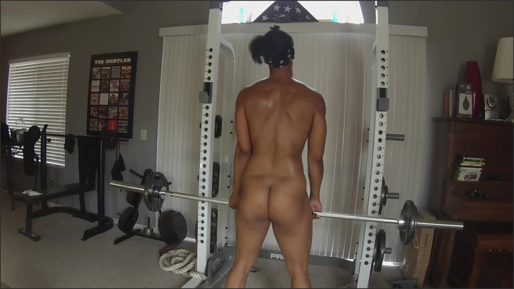 [Full HD] Ebony Milf Yoga Instructor Lifts Weights Nude - Alicia Strong - - 00:16:23 | Verified Amateurs, Workout Sweaty Pussy - 228 MB