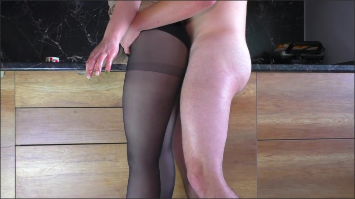 [Full HD] Hot Stepsister With Nylon Pantyhose Handjob Cum On Pantyhose - Alina_Rose - - 00:09:25 | Exclusive, Cumshot - 143,6 MB