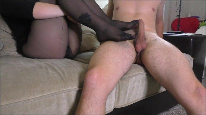 [Full HD] Teen Step Sister With Big Ass In Pantyhose Helps Cum Handjob Footjob - Alina_Rose - - 00:12:02 | Thighjob, Foot Fetish - 212,9 MB