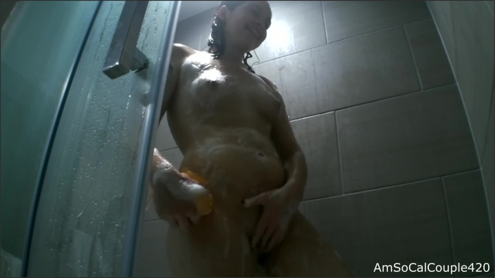 [Full HD] Sexy Girl Soapy In The Shower - AmSocalcouple420 - - 00:07:58 | Verified Amateurs, Wet Hair - 97,5 MB