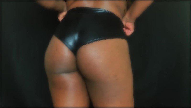 [Full HD] Ass Addict  - Amahlia Blade - -00:08:58   Brunette, Solo Female, Ebony Ass - 123,9 MB