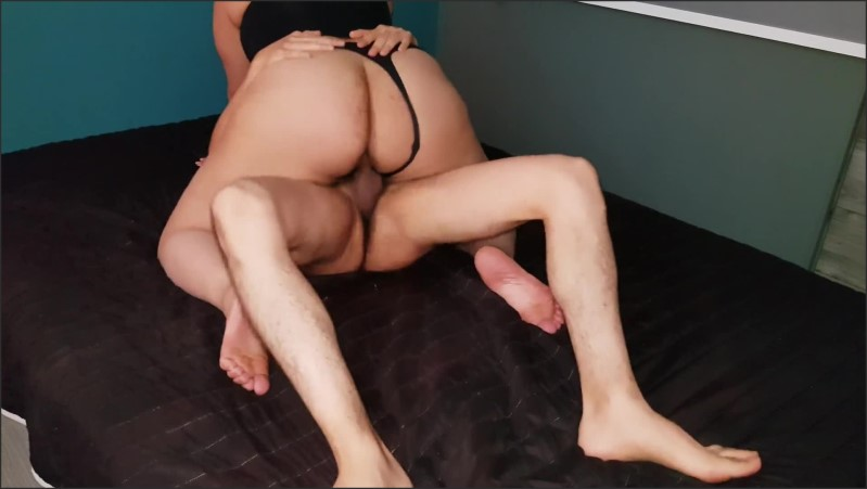 [Full HD] Mexican Big Butt Slut Is Cowgirl Fuck For A Latin Dick In Black Lingerie  - AmateurLatino - -00:06:43 | Reality, Culona, Nalgona - 84,2 MB