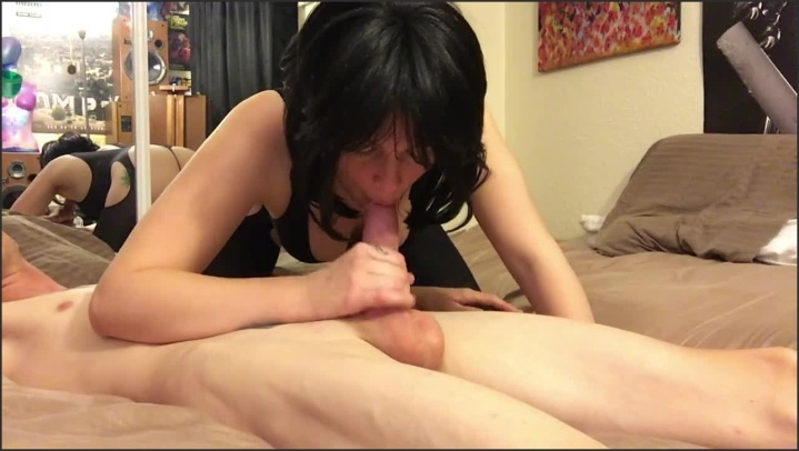 [HD] Blowjob With Mirror Refection - Amber_Alix - - 00:11:50 | Amateur, Natural Tits - 137 MB