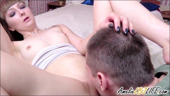 [Full HD] Stepsister Sucks Dick And Hard Fucks Cum Inside - AmelieLBJlife - - 00:09:47 | Cumshot, Close Up - 184,7 MB