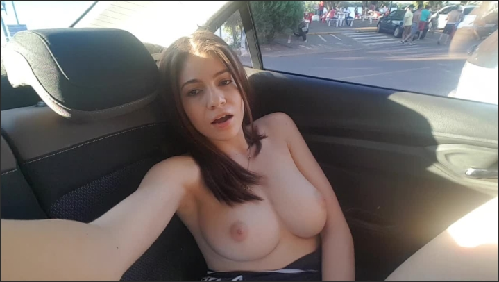 Car Masturbation Road Trip
