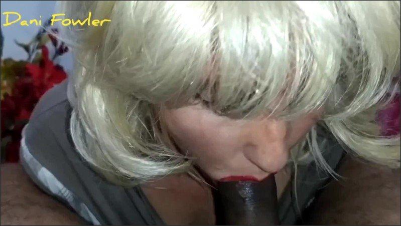 [Full HD] Red Lips Of Angel Fowler Giving Blowjob To Dani Danger  - Angel Dani Fowler - -00:07:15 | Sloppy Deepthroat, Beautiful, Submissive Slut - 287,5 MB