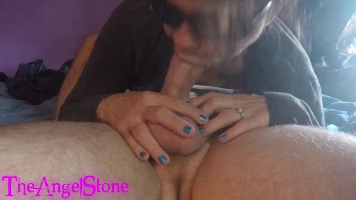 Angel Stone Upclose Blowjob And Face Fuck