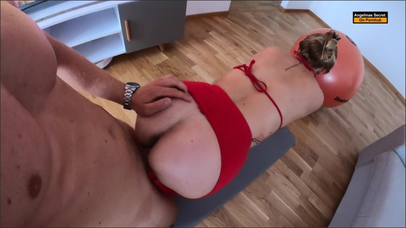 [WQHD] Fitness Amateur Teen In Leggings Get Rough Anal Fuck On Yoga Ball And Creampie - Angelinas Secret - -00:13:34 | Ass Fuck, Tattoo - 357,1 MB