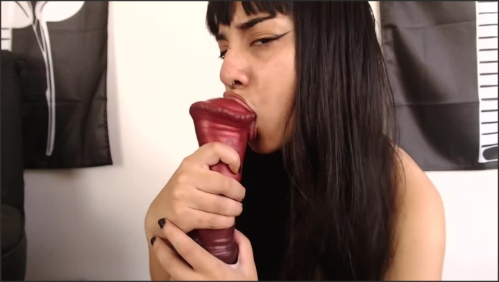 [HD] Asian Slut Bad Dragon Horse Cock Blowjob - Anna Thorn - - 00:22:40 | Blowjob, Asian Blowjob, Cum In Mouth - 236,7 MB