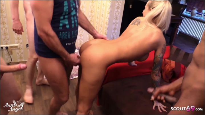 [Full HD] German Uncut Creampie Gangbang For Skinny Teen Anni Angel - Anni Angel - - 00:18:14   Big Dick, Deutsch, Teen - 381,4 MB