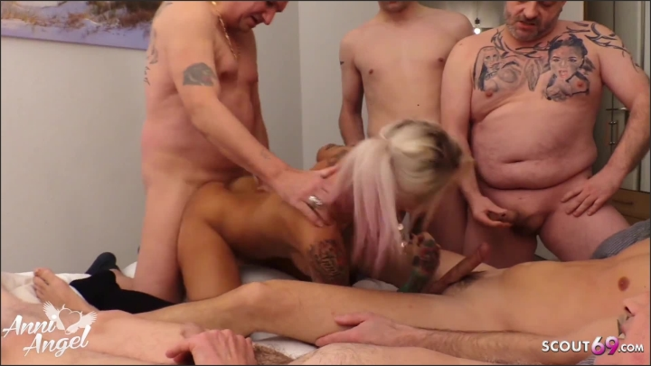 [Full HD] Privat Gangbang For German Teen Anni With 6 Stranger In Hotel - Anni Angel - - 00:10:04 | Young, Privat Group, Teen - 195,9 MB