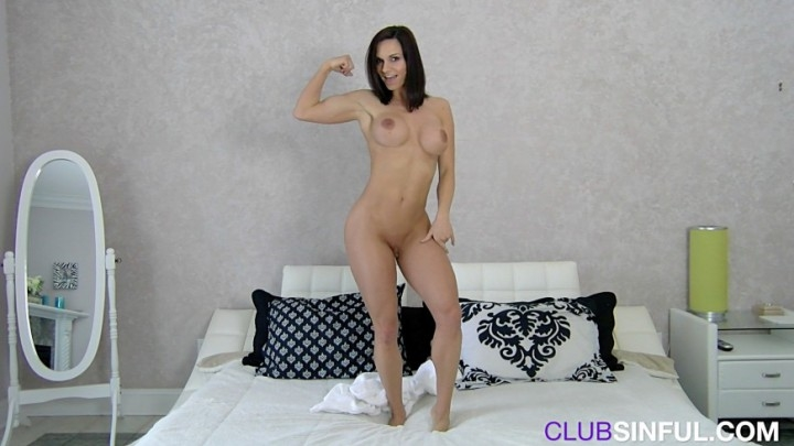 Ashley Sinclair Muscle And Towel Dance