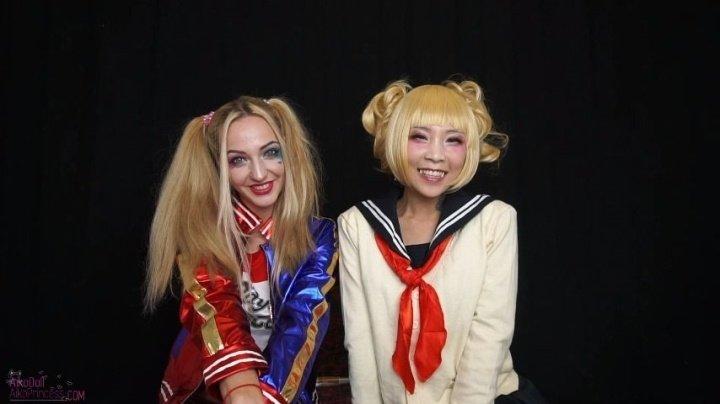 Asiandreamx 2 Badass Harley And Himiko Happy Bday