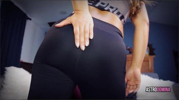 [Full HD] Astrodomina Black Leggings Ass Tease Pov Yogapants - AstroDomina - Manyvids - 00:12:51 | Size - 195,4 MB