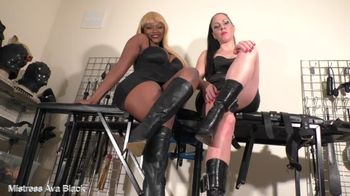 Ava Black Caged For Our Boots Part 2