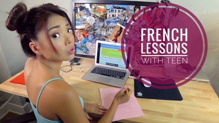Ayumi Anime French Lessons W Asian Teendouble Fuck