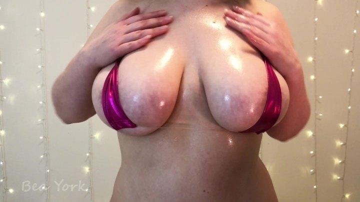 Beayork Oiled Up Mini Bikini