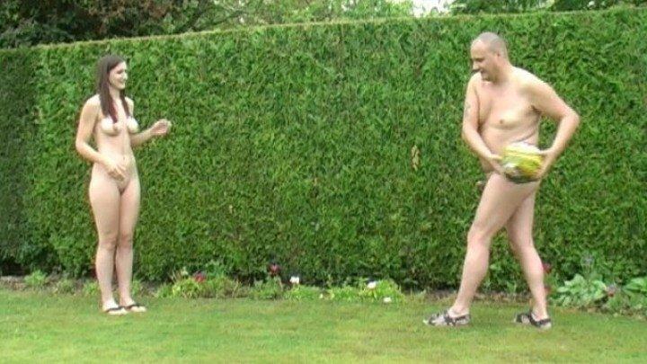 Beefybanger Laura Amp Me Outdoor Nudist Fun 1