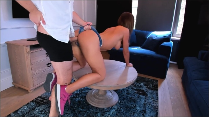 Crazy Fit Teen In Tight Short Jeans Take My Cock So Deep