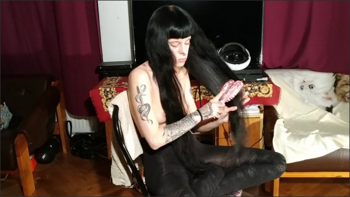 [Full HD] Beth Kinky Petite Sexy Teen Girl Brushing Her Hair W Bare Tits Pt1 Hd - Beth Kinky - - 00:07:59 | Hair Brushing, Hair Worship, Fetish - 196 MB