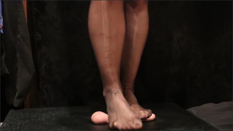 [Full HD] High Heels And Nylons Cock Stomp And Footjob  - Bittavonsweet - -00:08:03 | Barefeet, Kink, Cbt - 265,2 MB