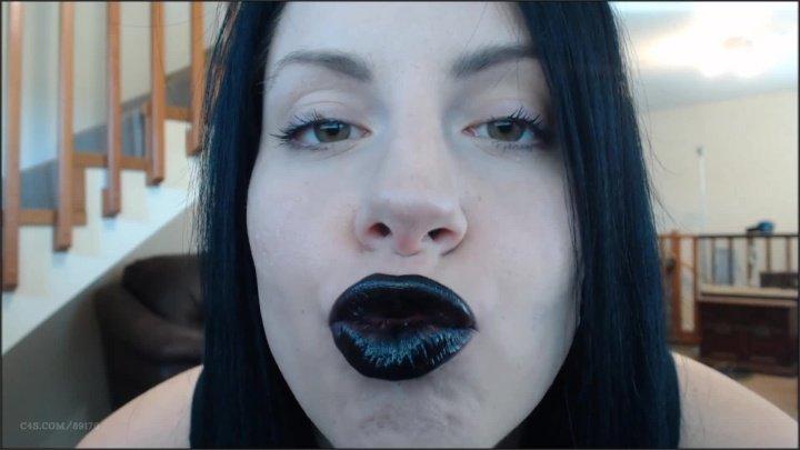 Booty4U Black Lipstick Duck Lips
