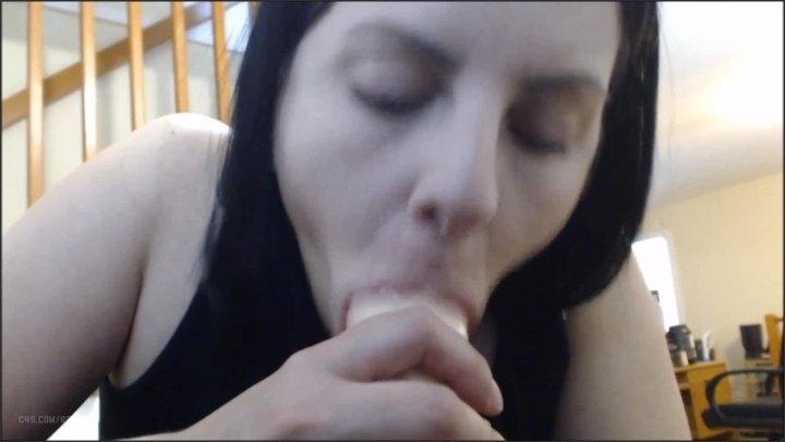 Booty4U Gagging Condom Blowjob