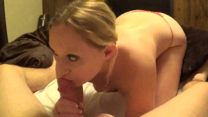 Bouncybritney 46 Red Thong Blow Job My Fav Vid