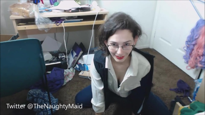Brendamaid Han Solo Strips And Rubs Clit For You Hd