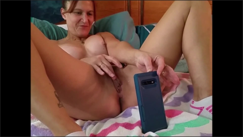 [Full HD] Sexy Milf Masturbates And Cums Multiple Times On Video Chat With Her Young Bull  - Brittany Blowsu - -00:08:32 | Babe, Orgasm, Girlfriend - 171,4 MB