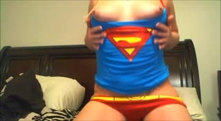 Brittany London Supergirl Cum