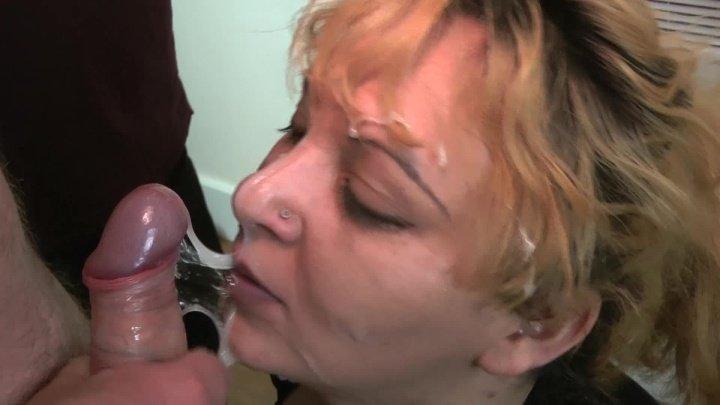 Bukkakecentral Big Titted Amateur Blonde Takes Facials