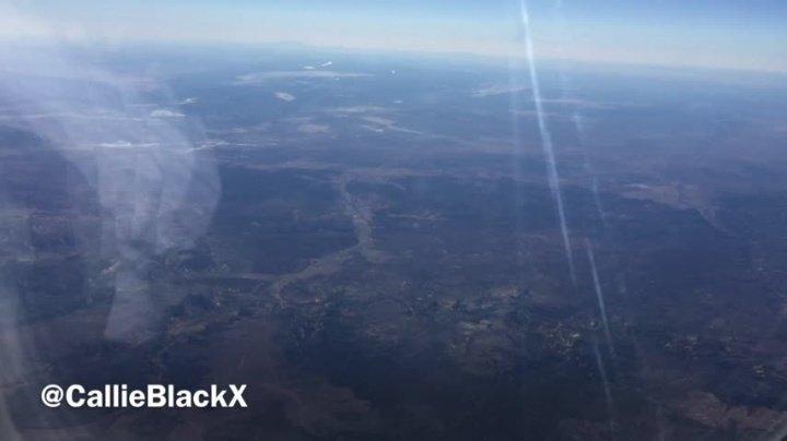 Callieblackx Mile High Club In Flight Masturbation