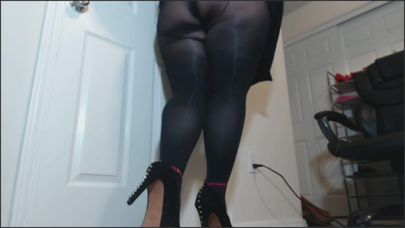 [HD] Bbw Domme Threatens Ballkicking In Spiked High Heels And Custom Stockings  - CamGirlKitten - -00:08:16 | Big Ass, Amateur - 70,6 MB