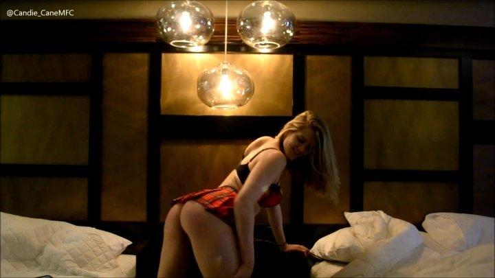 Candiecane Sexy Tease And Dance To Some Van Halen