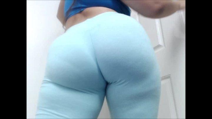 Carmita Bonita Leggings Assworship And Winking Ass Hole