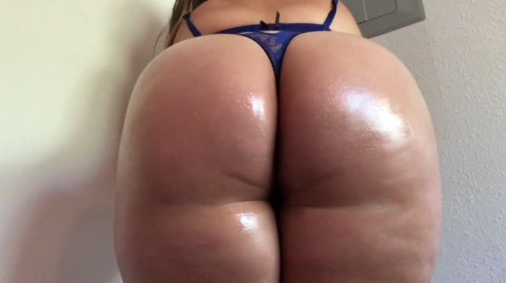 Carmita Bonita Legs Together Oily Ass Shaking Clapping