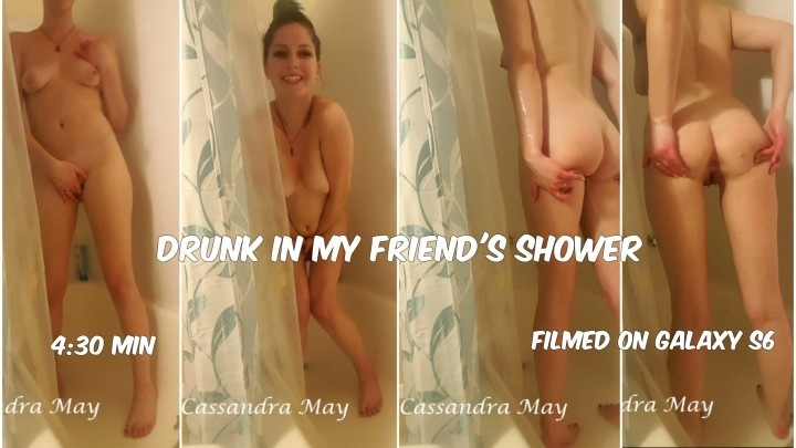Cassandramayy Druhnk In My Friends Shower Mp4
