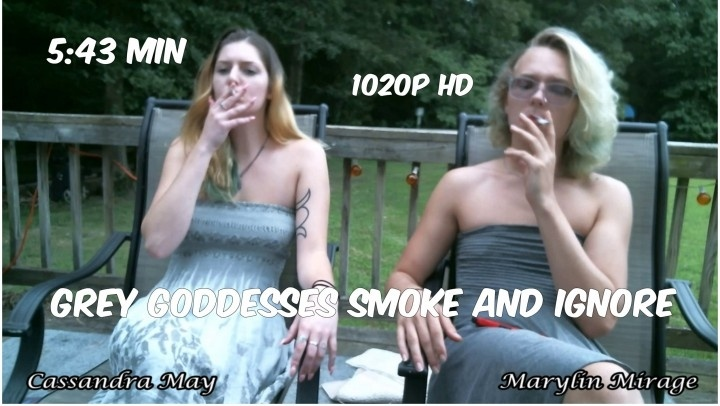 Cassandramayy Grey Goddesses Smoke And Ignore Mp4
