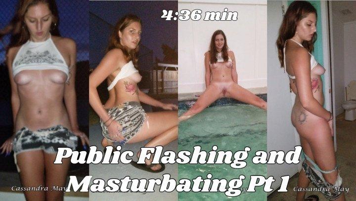 Cassandramayy Public Pool Flashing Amp Masturbating Pt 1