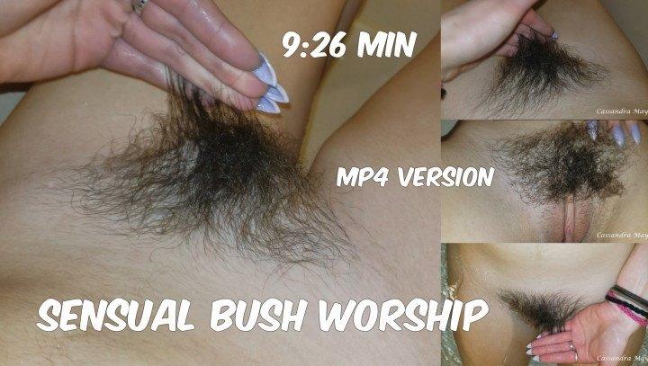 Cassandramayy Sensual Bush Worship