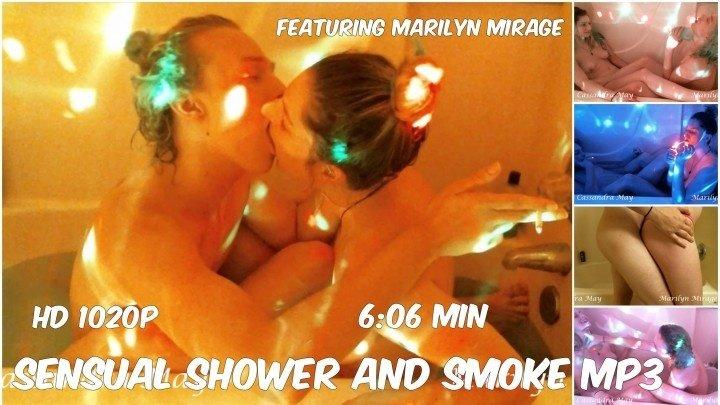 Cassandramayy Sensual Shower And Smoke Mp4